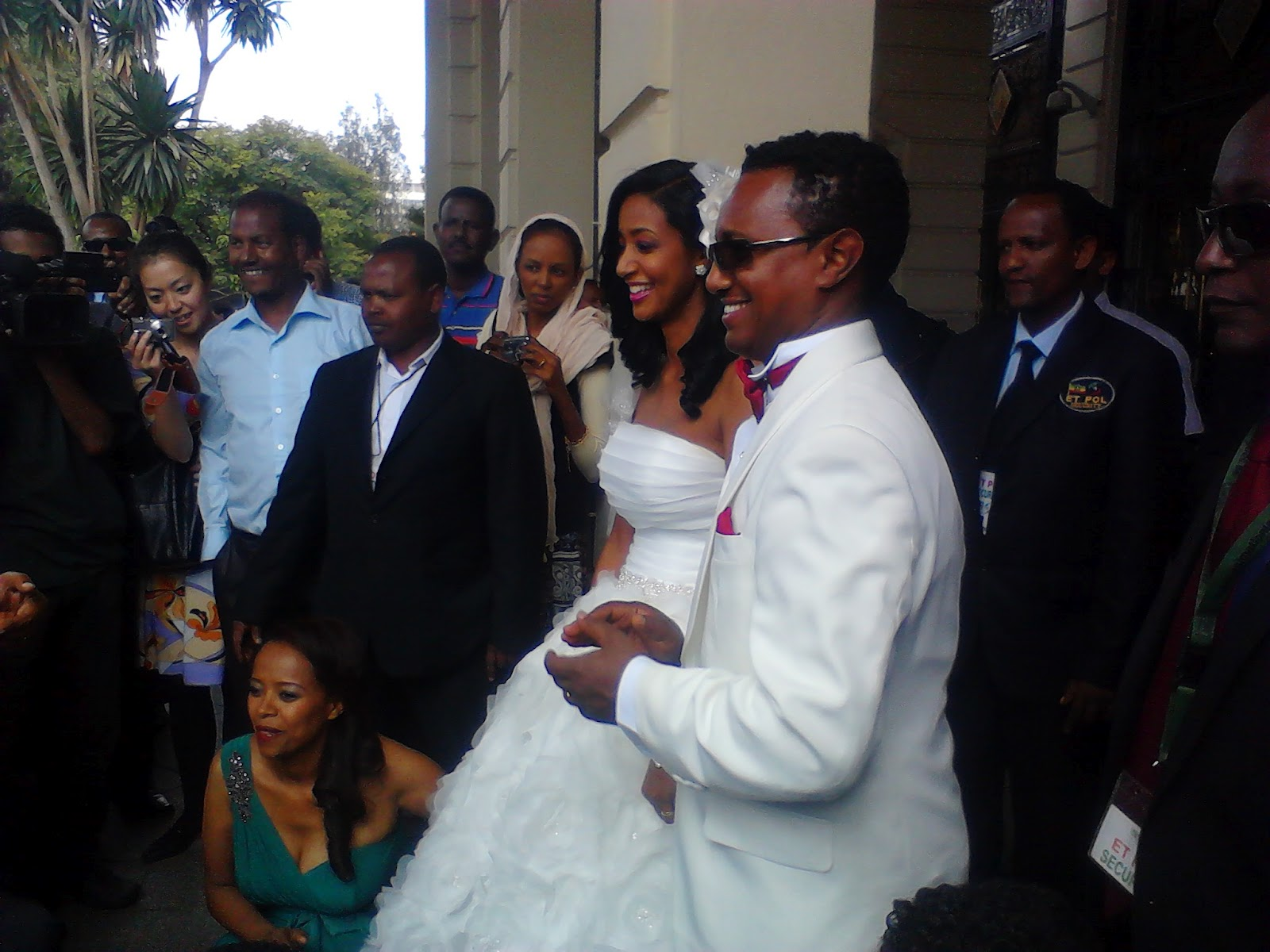 Teddy Afro Marries Amleset Muchie In Addis Ababa
