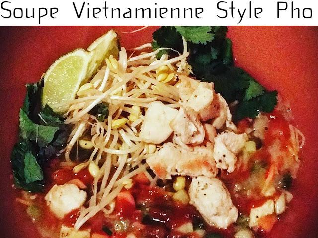 Soupe Vietnamienne Style Pho Maison