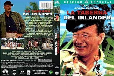 La taberna del Irlandés | 1963 | Donovan's Reef - Cover - Caratula - Dvd