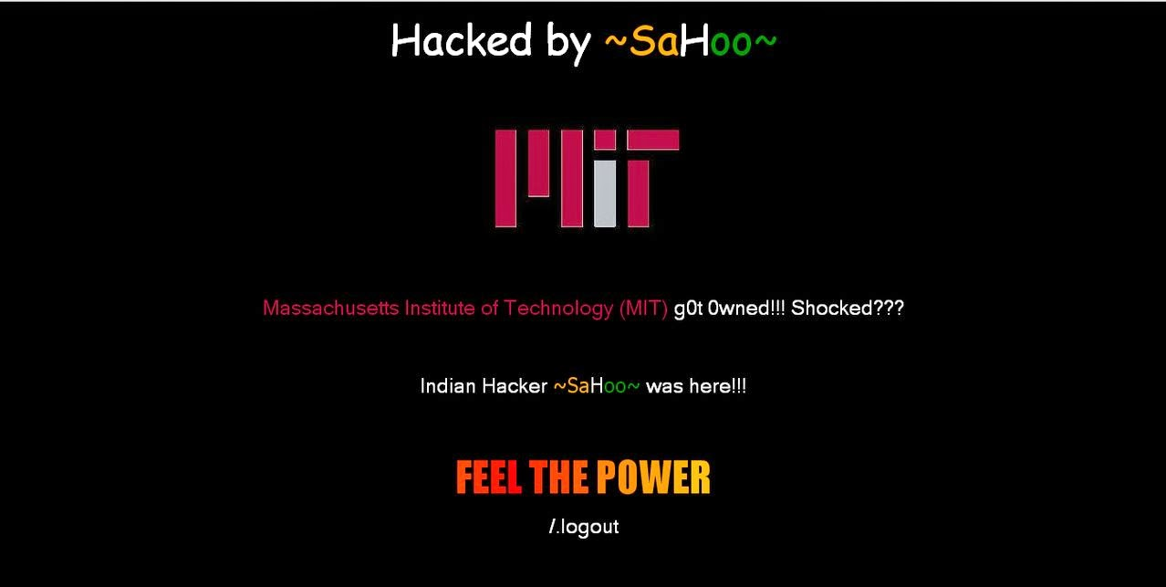 Stanford University and MIT site hacked by Sahoo, hackers hacked university site, hacked by Sahoo, hacking websites, Stanford University hacked, hacking Stanford University, Massachusetts Institute of Technology (MIT) website hacked, hacked by Indian hackers
