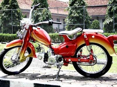 Honda 70 Modif