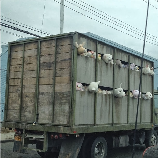Banksy's New Truck Installation For Better Out Than In Uncovered Early ? 5