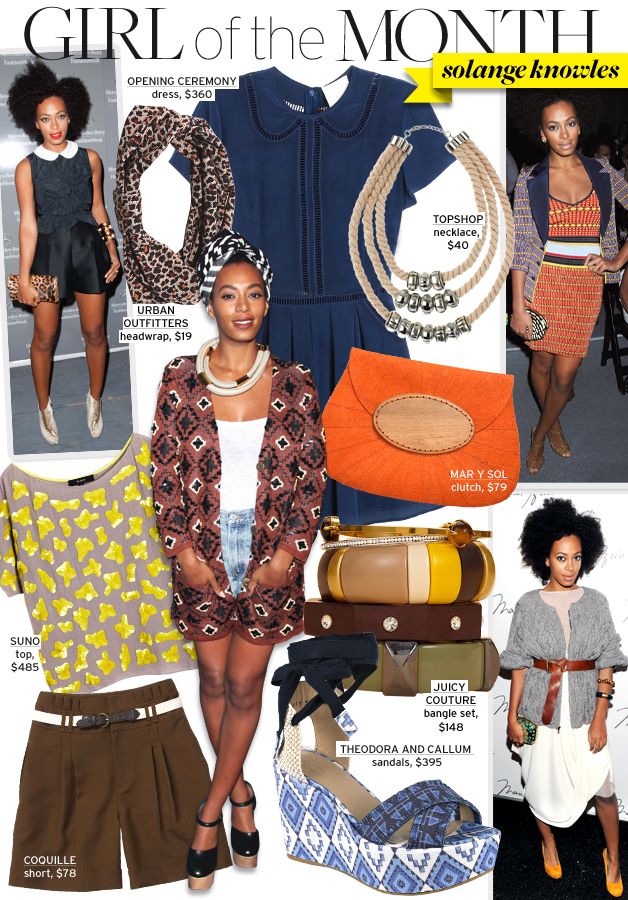 Who, What, Wear – Girl of the Month