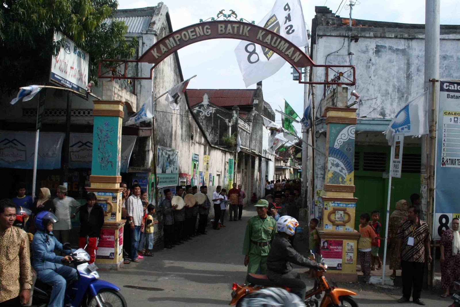 Kampung Batik Kauman, Pekalongan     masdonie.blogspot.com