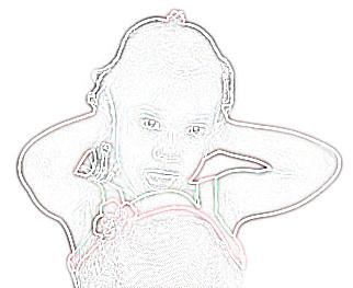 bambino che si copre le orecchie con le mani