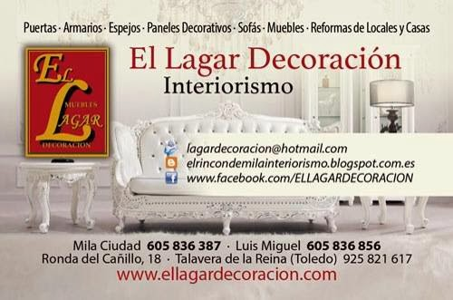 EL LAGAR DECORACIÓN. INTERIORISMO