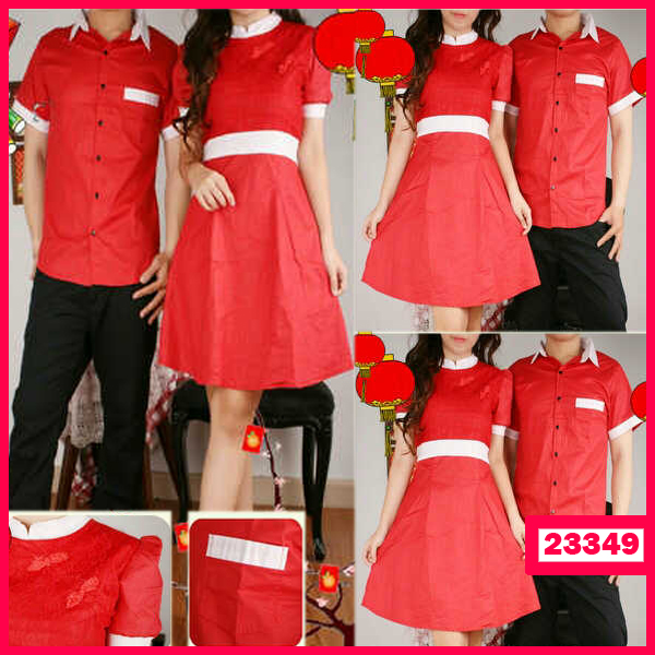 Busana: Dress Couple Imlek (BBB-051)