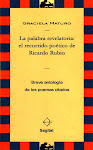 Sobre la obra poética de Ricardo Rubio: