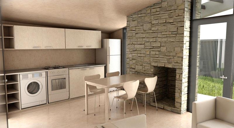Mis experimentos en arquitectura prototipo de vivienda de for Como decorar una vivienda