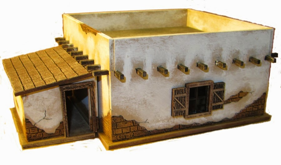 Knuckleduster Miniatures Journal TCL ADOBE BUILDING PREVIEW