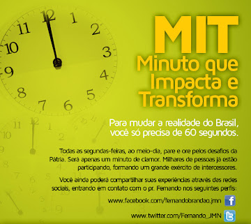 MIT - Minuto que Impacta e Transforma!