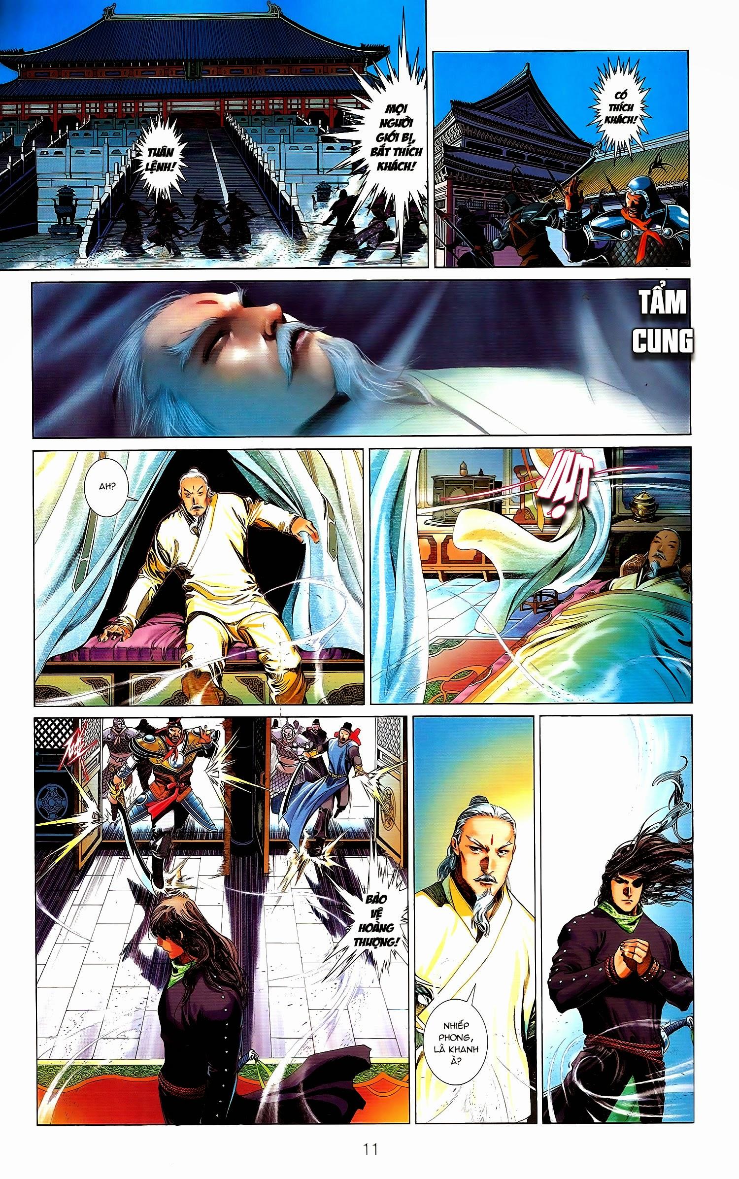 Phong Vân chap 671.1 - Trang 11