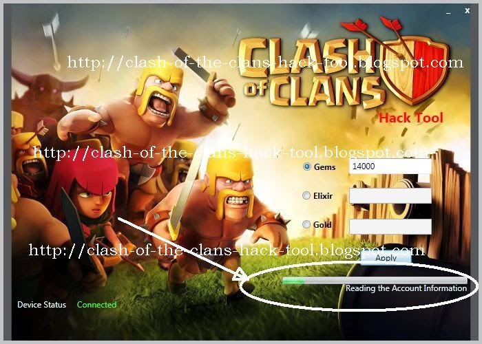 Clash Of the Clans Hack Tool