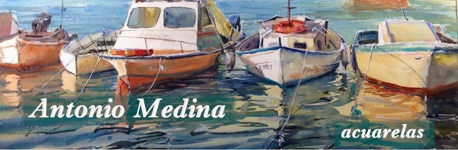 Acuarelas de Antonio Medina