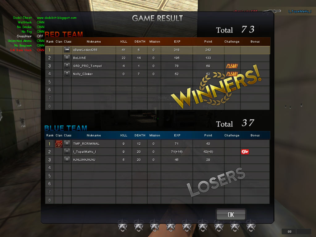 cheat point blank indonesia untuk all windows new