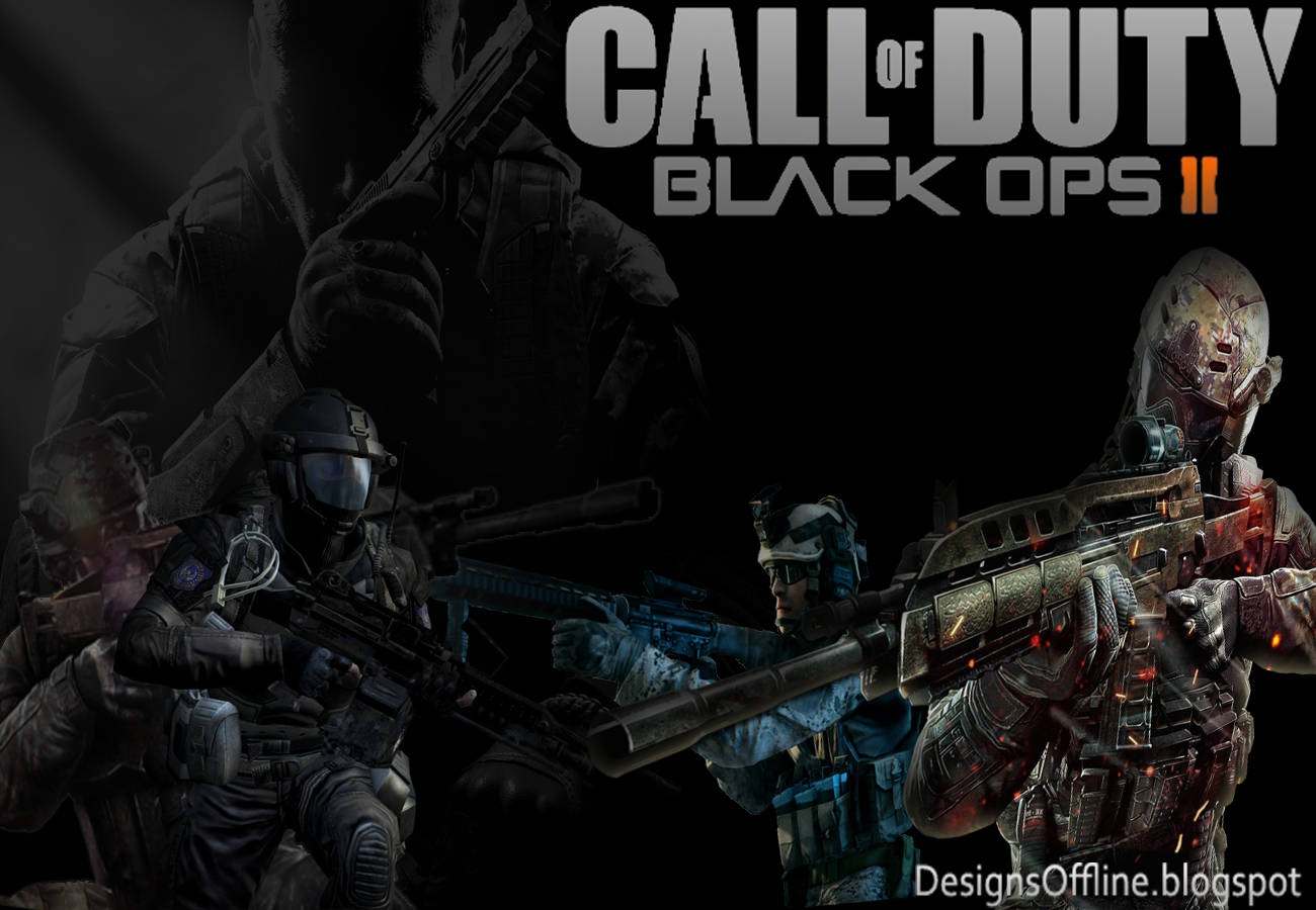 Wallpaper Call of Duty Blabk Ops 2