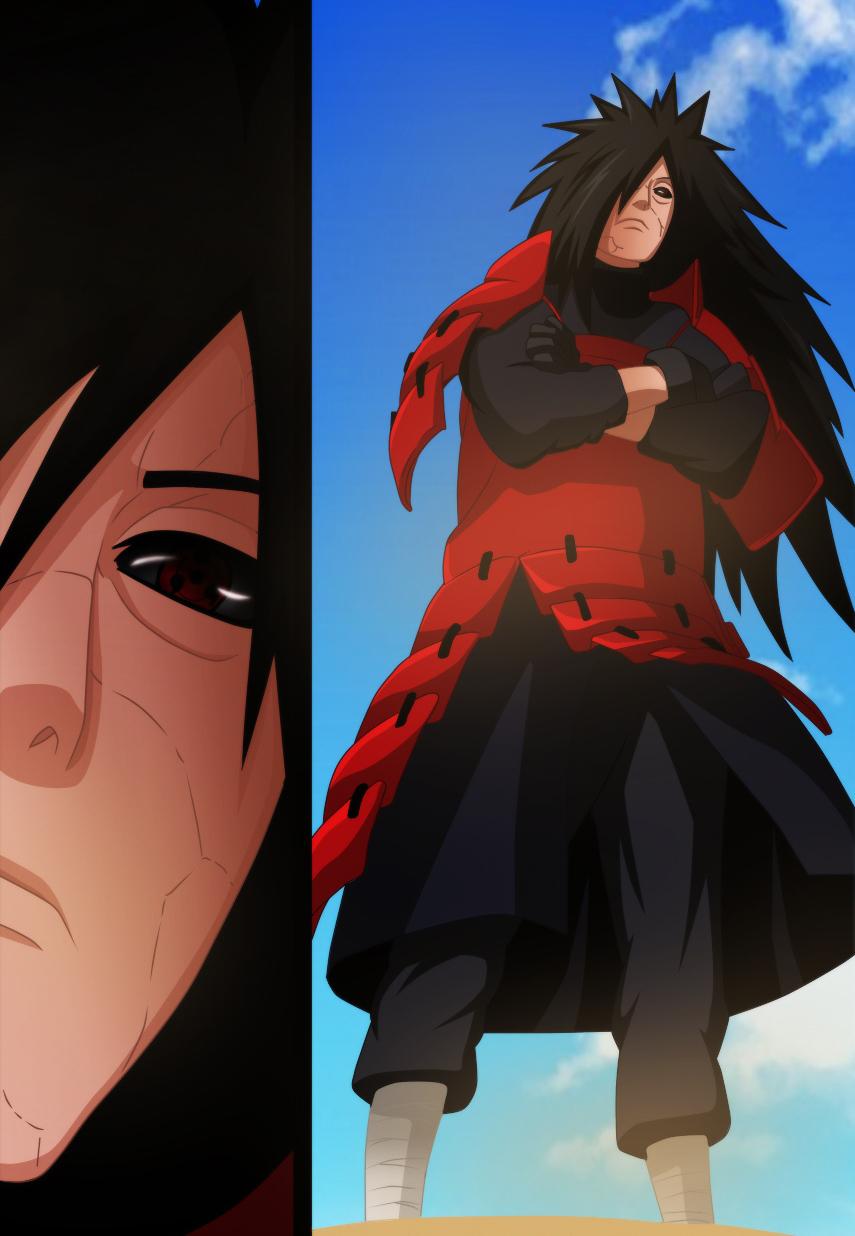 Naruto Anime Wallpapers: Uchiha Madara