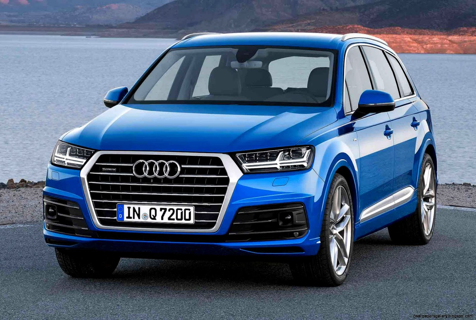 New Audi Q7 2016