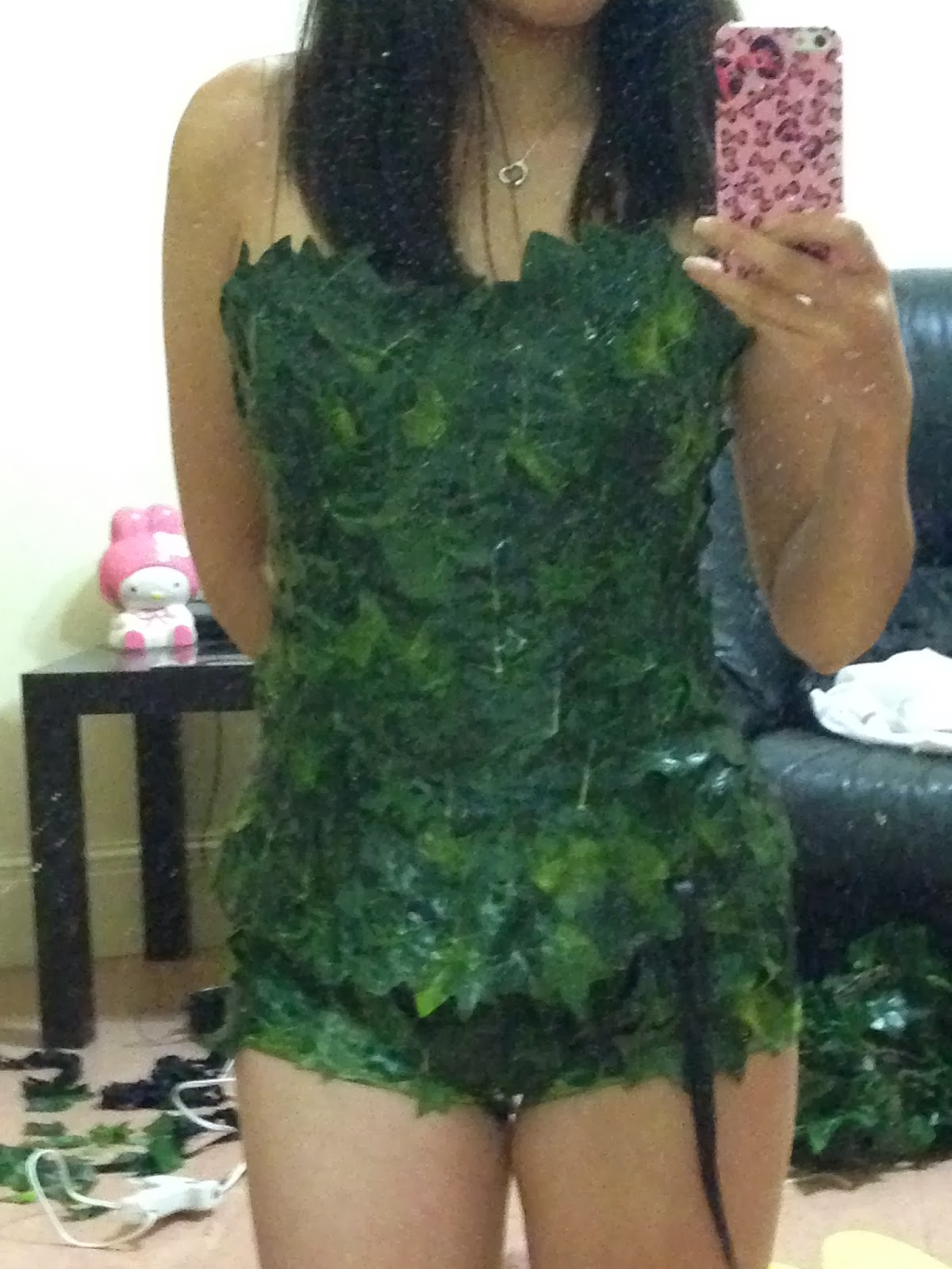 Halloween Easy Poison Ivy Cosplay Costume And Makeup My