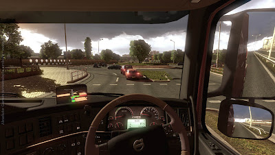 Screen Shot Of Euro Truck Simulator 2 (2012) Full PC Game Free Download At worldfree4u.com