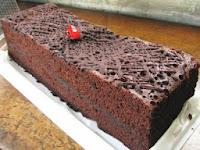 Resep brownies coklat panggang enak