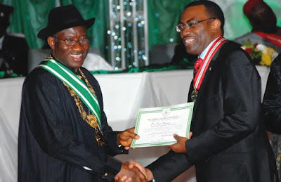 Jonathan says Akinwunmi Adesina's appointment justifies his administration