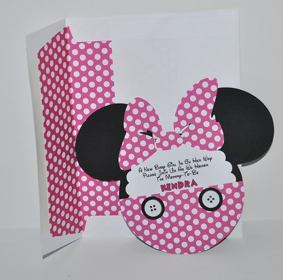 baby shower invitations minnie mouse baby shower invitation inspired