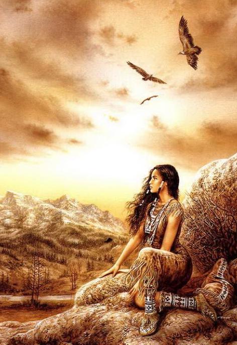 american indian fantasy art