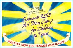 SUMMER ART CAMP For Kids/Teens