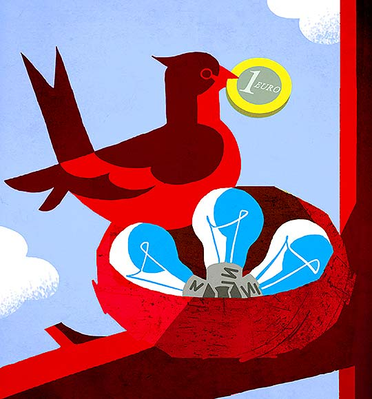 Ilustración de Davide Abbati