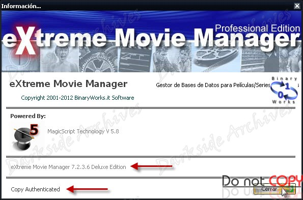 eXtreme Movie Manager 7.2.3.6 Deluxe