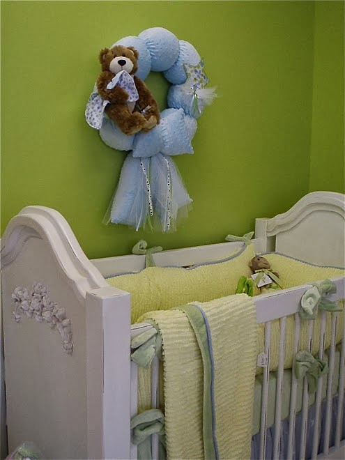 DECORATION FOR THE NURSERY.