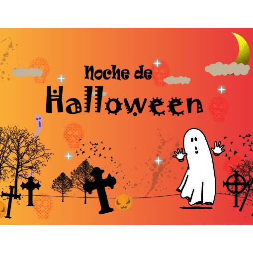 Noche de Halloween vector