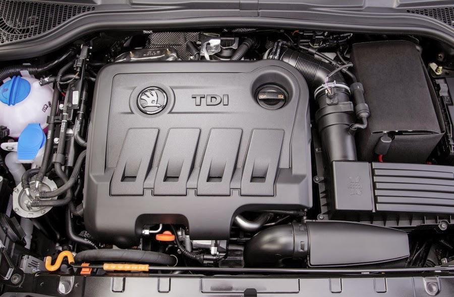 Motor diesel Skoda Yeti