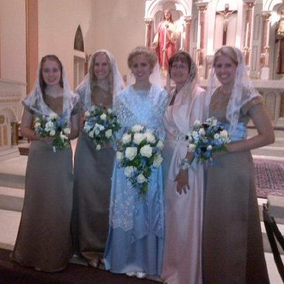 Etheldredasplace: Modest TLM Wedding Dresses