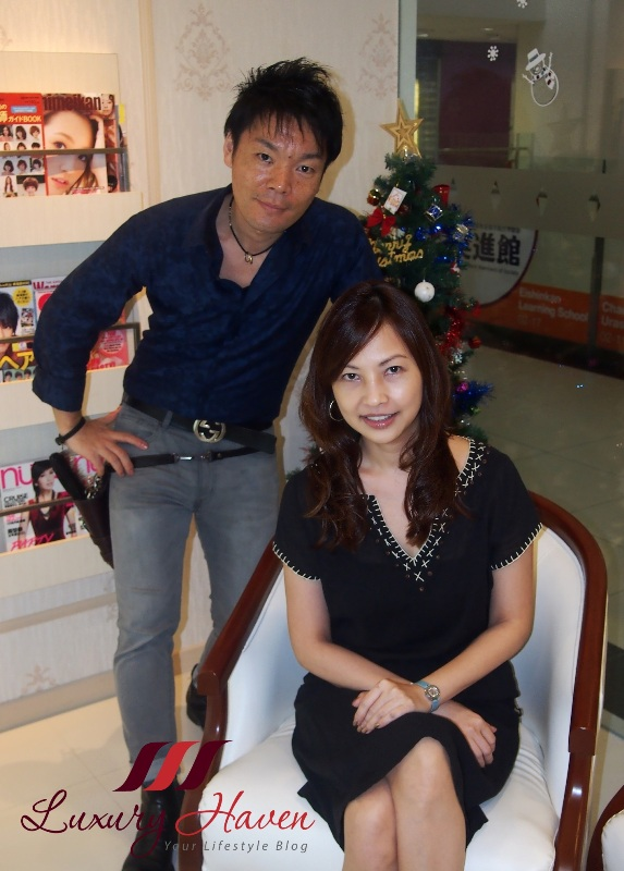naoki yoshihara japanese hair salon luxury haven review