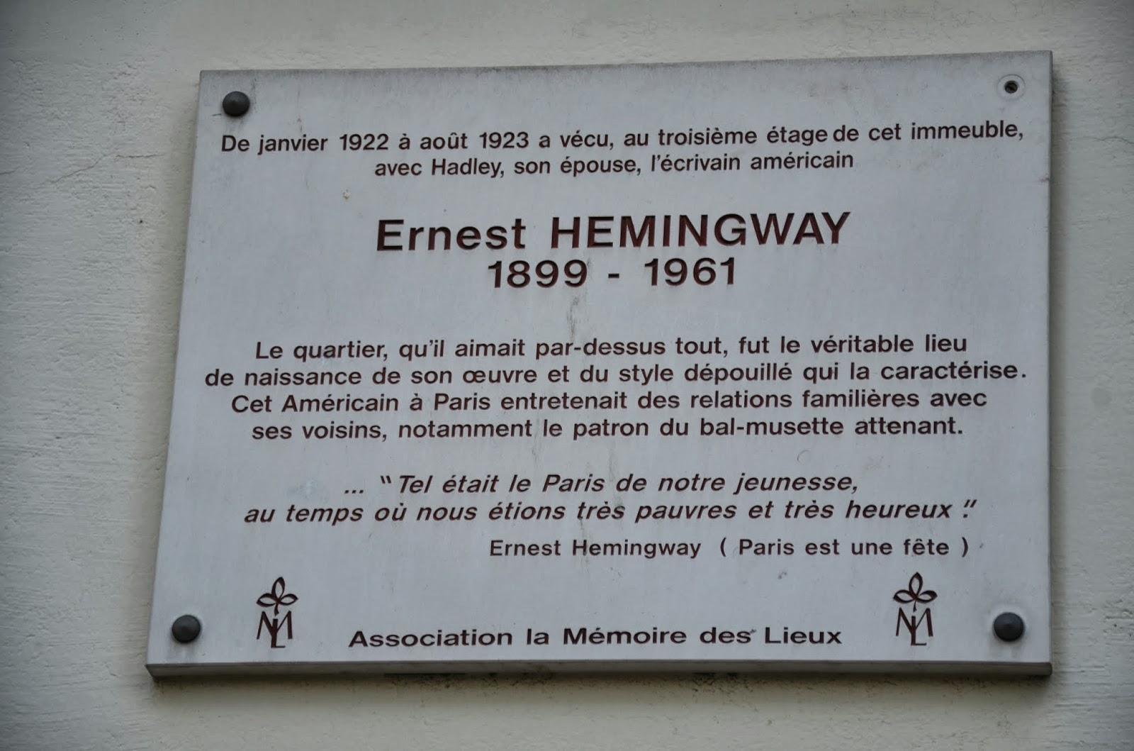 essay on ernest hemingway Noble prize winner ernest hemingway lived a troubled life several marriages, various faiths, and ultimately a losing fight with depression however hemingway left a profound impact on.