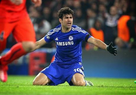 Diego Costa Nihil Gol Di Liga Champions