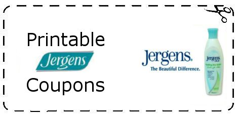 Jergens Coupons