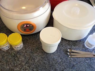 goat yoghurt tools