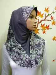 Tudung Zaheera Denim (Full Denim)