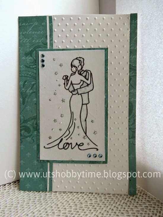 Making Anniversary Cards Ideas Part - 19: Handmade Anniversary / Love Greeting Card. Cardmaking Ideas