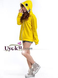 Vocaloid Matryoshka miku Len Rin Gumi Cosplay Costume Yellow Color Cool Garment