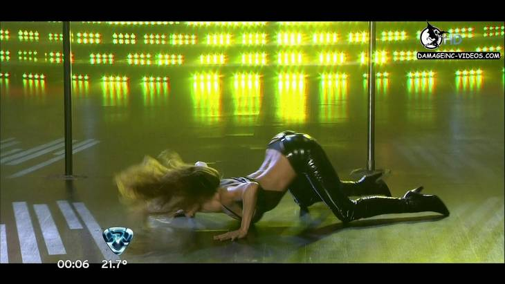 María Vazquez Argentina Celebrity in latex damageinc HD 720p