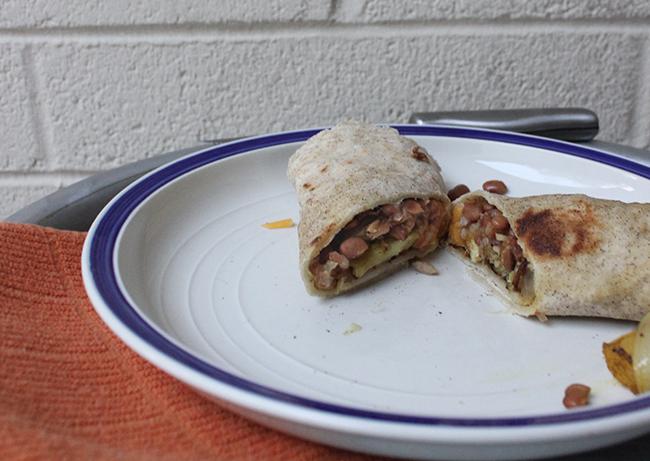 ... Wife: Bean and Potato Burritos with Gluten-Free Flour Tortillas