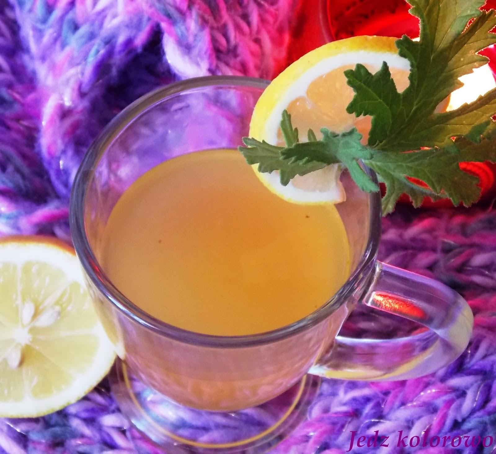 herbatka z geranium