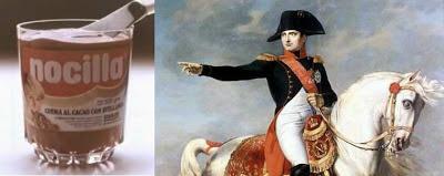 Napoleon+nocilla+nutella+gianduja