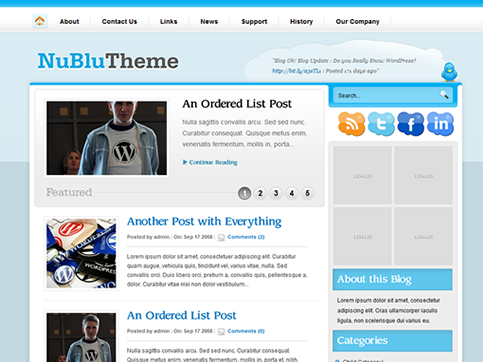 free premium wordpress theme 2012 30 Ücretli Ücretsiz WordPress Teması