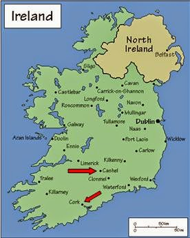Blarney Ireland Map.Christopher S Expat Adventure Cork And Blarney Castle Tour Ireland
