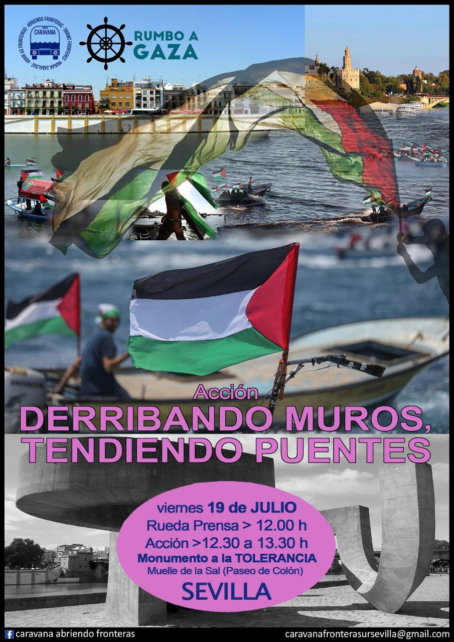 CARAVANA SUR 2019. Caravana Abriendo Fronteras en Sevilla